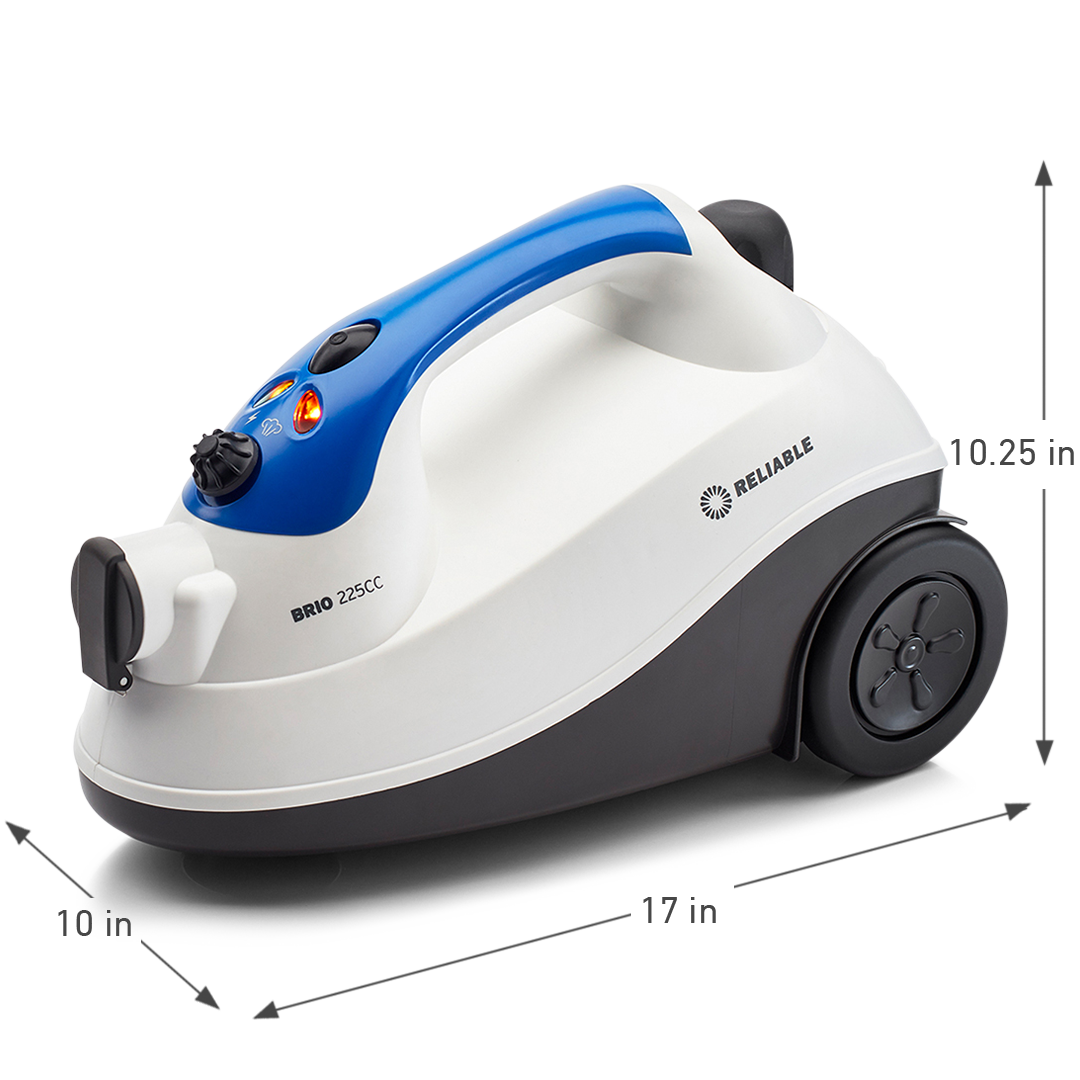 BRIO 225CC HOME STEAM CLEANING SYSTEM DIMENSIONS