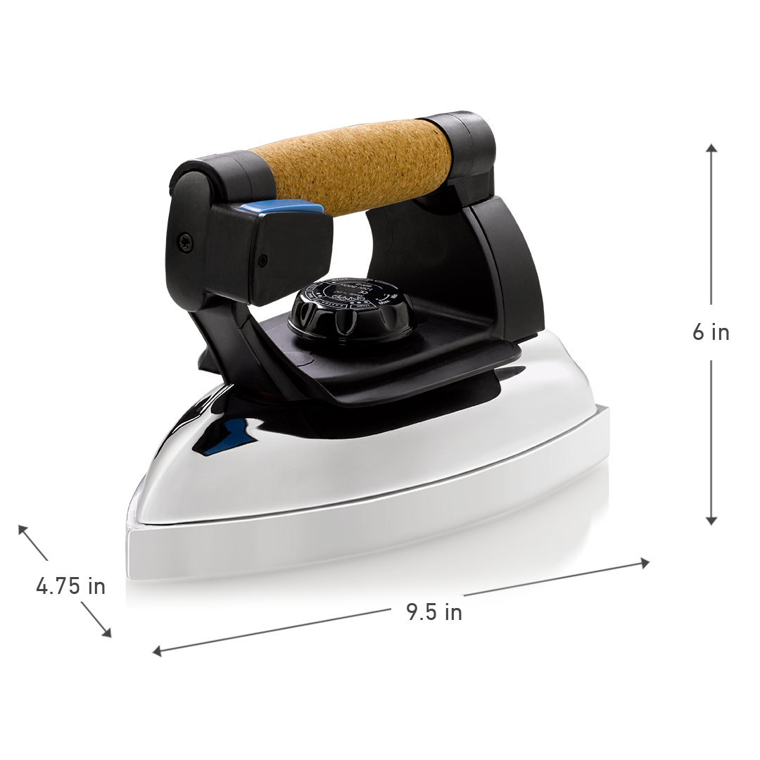 RELIABLE PROFESSIONAL STEAM IRON DIMENSIONS