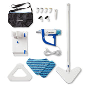 300CS Portable Steam Cleaner - complete accessory kit