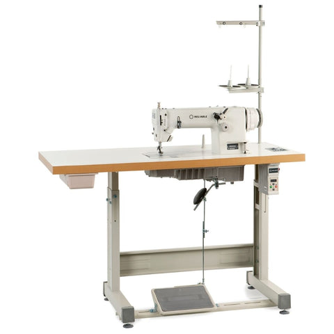 4900SC DIRECT DRIVE CHAINSTITCH SEWING MACHINE - WITH STAND