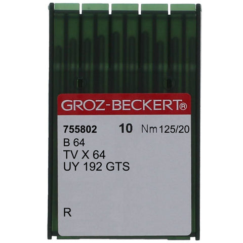 B 64 GROZ-BECKERT® SEWING MACHINE NEEDLE, 10 PACK
