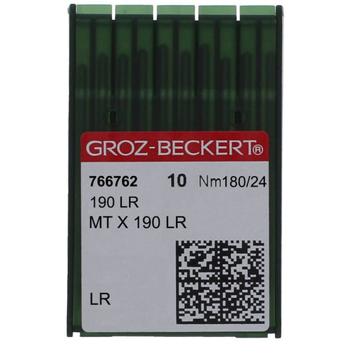 MT x 190 LR GROZ-BECKERT® SEWING MACHINE NEEDLE, 10 PACK