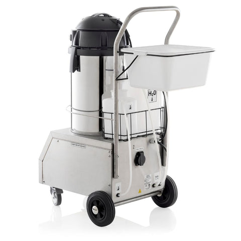 TANDEM PRO 2000CV COMMERCIAL STEAM CLEANING SYSTEM - REAR VIEW