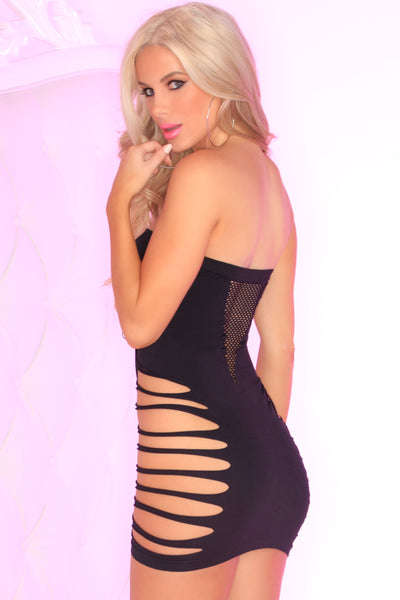 Shred The Bed Seamless Dress - Pink Lipstick Lingerie
