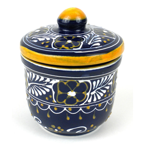 Sugar Bowl - Blue Handmade and Fair Trade