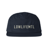 embroidered LOGO 5 Panel Hat