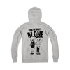 QSA X LOWLIFE COLLAB - YOU'RE NOT ALONE Zip Hoodie