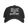 roller skate and destroy Dad cap