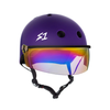 Lifer Helmet W/Visor IRIDIUM GRADIENT MIRROR