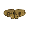 gold knuckles pin