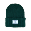 label Ribbed Toque