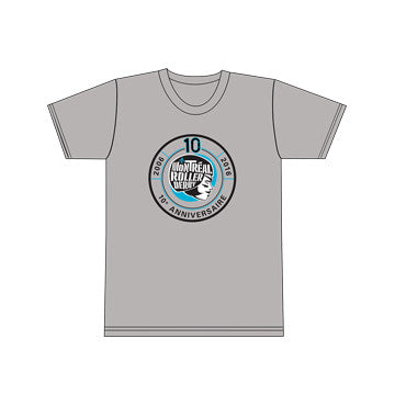 MTLRD - LEAGUE 10TH ANNIVERSARY LOGO MEN'S T-SHIRT