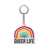 queer life keychain
