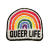 queer life 4'' Patch