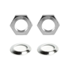Toe Stop Nuts and Washers