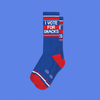 vote for snacks Socks