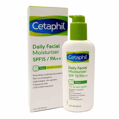 Cetaphil Daily Facial Moisturizer SPG15PA++ 118ml