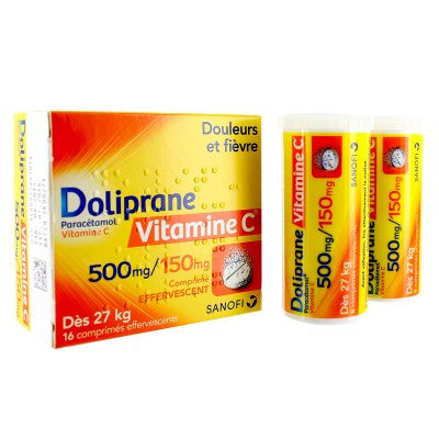 Doliprane Vitamine C 500mg (p/TUBE)