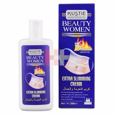 Kustie Etra Slim Essence Hot Cream 200ml