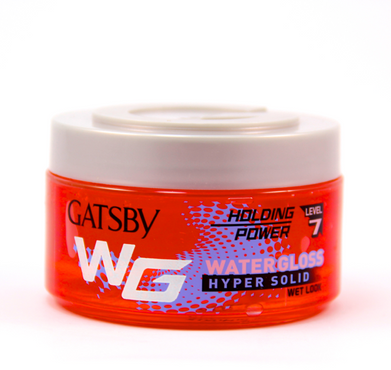 Gatsby Water Gloss Wet Look Hyper Solid 150g