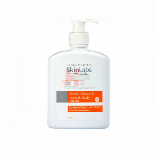 Skinlabs Gentle Vitamin E Face & Body Cleanser (500ml)