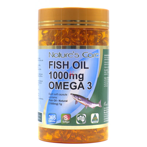 Fish Oil 1000mg Omega 3