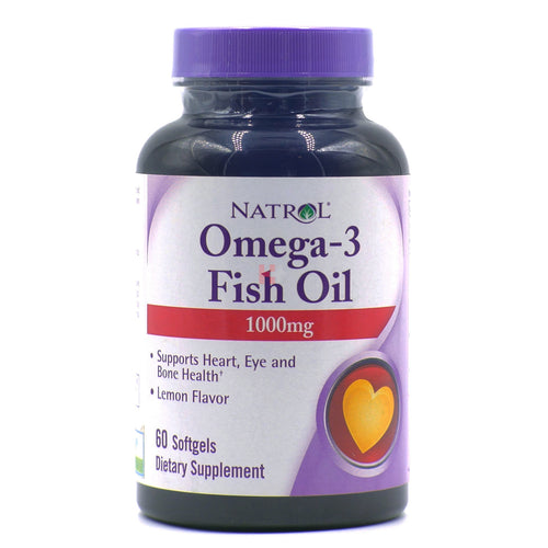 Natrol Omega 3 Fish Oil