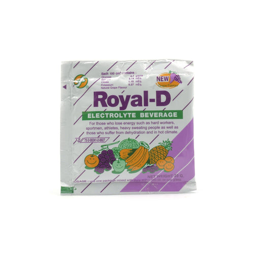Royal-D Electrolyte Beverage Grape Flavor
