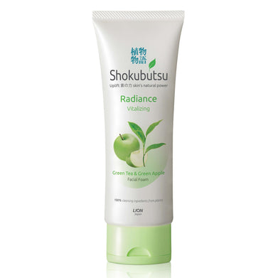 Shokubutsu Radiance Facial Foam (Vitalizing),100ml