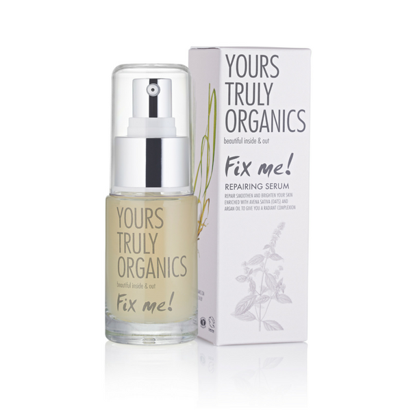 Yours Truly Organics Fix Me! Repairing Serum (30ml) - Melariche
