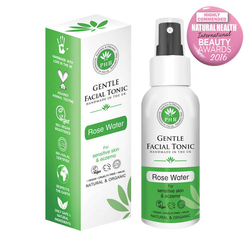 PHB Ethical Beauty Gentle Facial Tonic with Organic Rose - Melariche