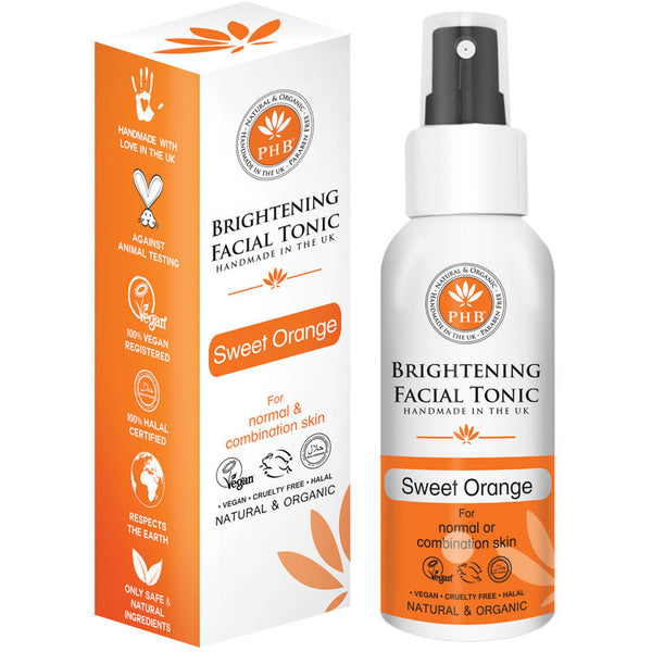 PHB Ethical Beauty Brightening Facial Tonic with Neroli (100ml) - Melariche