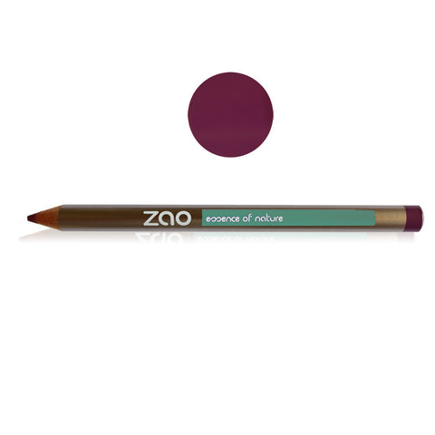 Zao Multipurpose Lip, Eye & Brow Pencil - Melariche