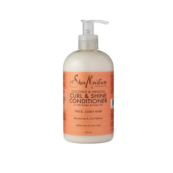 Shea Moisture Coconut & Hibiscus Curl and Shine Conditioner (379ml) - Melariche