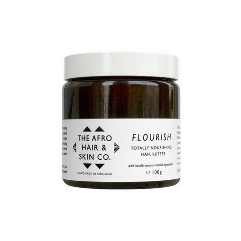 The Afro Hair & Skin Co. FLOURISH - Totally Nourishing Hair Butter (100g) - Melariche