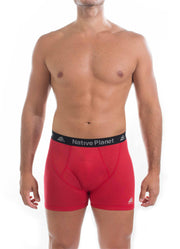 Native Planet Men's Polartec Delta Boxer Brief, Underwear with Mechanical Wicking Fabric Structure