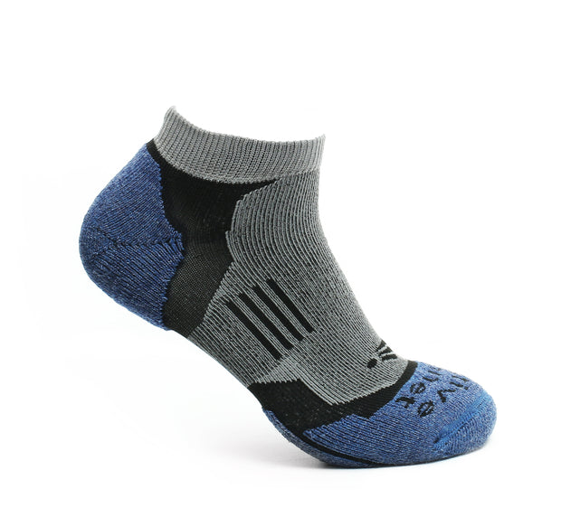 Impact - High Density Cushioned Running Socks (Blue)