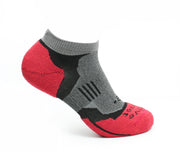 Impact - High Density Cushioned Running Socks (Red)