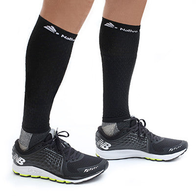 Native Planet Honeycomb Compression Sleeve - Black