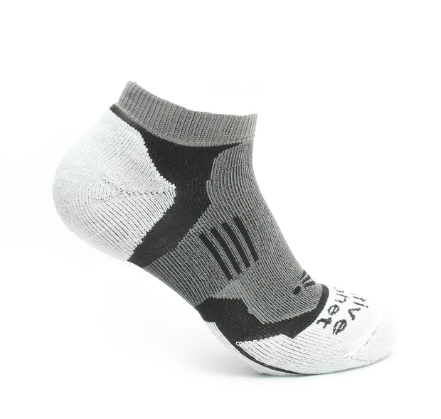 Impact - High Density Cushioned Running Socks (White)