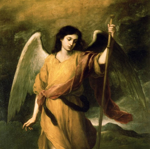 Healing Meditation with Archangel Raphael +EO Recipe