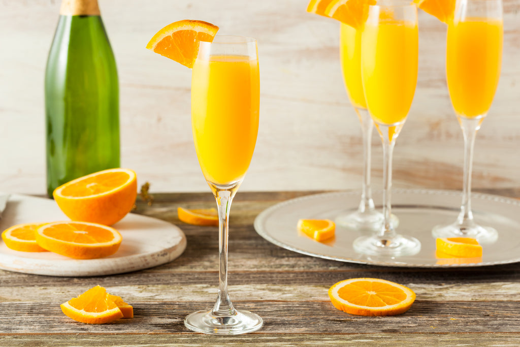 Drinks & Beverages: Chilled Mimosa Cocktails