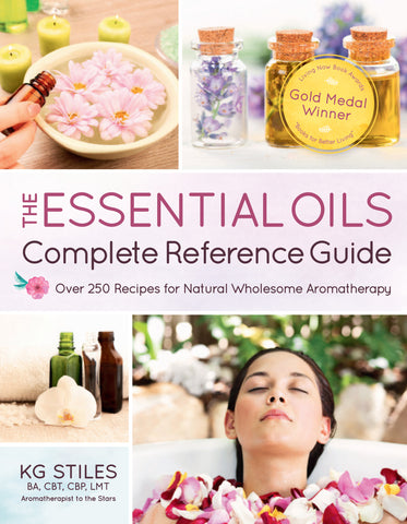 Essential Oils Complete Reference Guide By KG Stiles - Winner 'Living Now' Gold Medal Award - Winner 'Nautilus' Book Award - Winner 'Indie Next Generation' Book Award-Consulting & Tutorial Programs-PurePlant Essentials