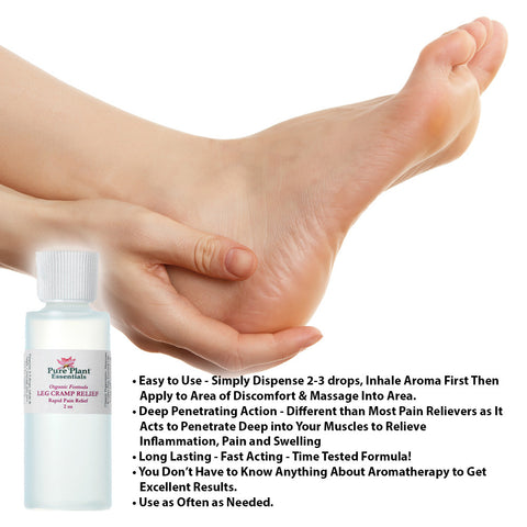 Leg Cramp Relief - Intensive Therapy - Ready-to-Use-Dilution-Essential Oil Dilution-PurePlant Essentials