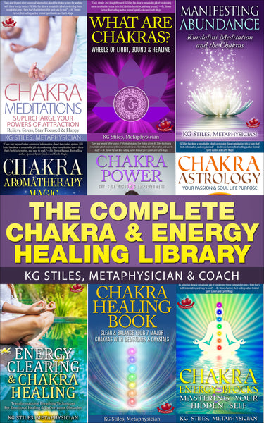 Complete Chakra & Energy Healing Library - (BUY BUNDLE & SAVE) - By KG Stiles-ebook-PurePlant Essentials