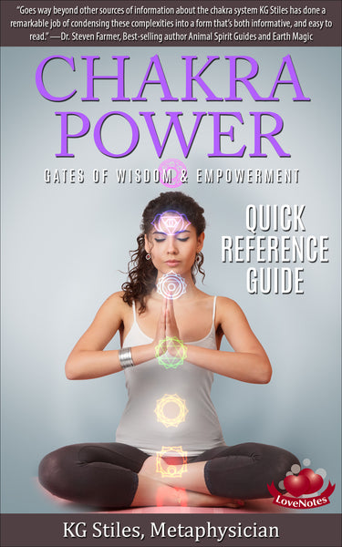 Chakra Power -- Gates of Wisdom & Empowerment  -- (Chakras 1-9)  -- By KG Stiles-ebook-PurePlant Essentials