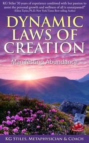 DYNAMIC LAWS OF CREATION - MANIFESTING ABUNDANCE - By KG Stiles-ebook-PurePlant Essentials