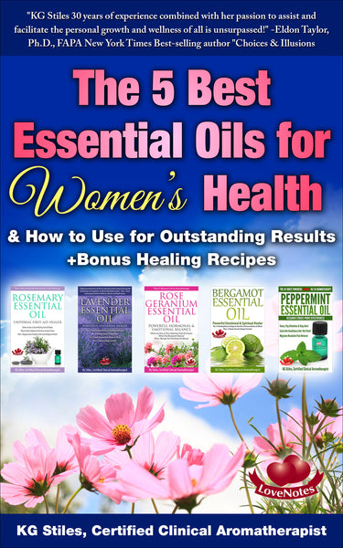 5 Best Essential Oils for Women's Health - (BUY BUNDLE & SAVE) - By KG Stiles-ebook-PurePlant Essentials
