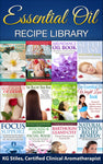 Aromatherapy Recipe Library -- BUY 12 BOOK BUNDLE & SAVE -- By KG Stiles-ebook-PurePlant Essentials