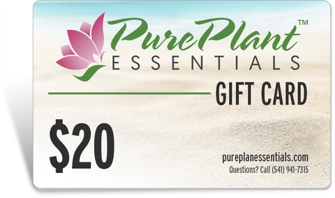 Gift Cards - PurePlant Essentials - Click on a Dollar Amount to Purchase Your Gift Card - You'll Get An Immediate Download Of Your Gift Card To Send Your Recipient(s)!-Gift Card-PurePlant Essentials